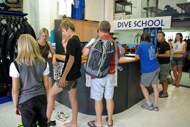 Diving school group Hotel les Illes l'Estartit